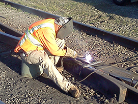 Services | Railroad Track Maintenance Services | Sharp & Fellows Inc