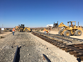 Services | Railroad Track Removal Services | Sharp & Fellows Inc